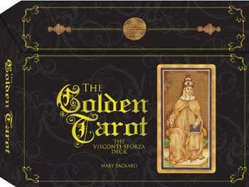 Golden tarot by Mary Packard