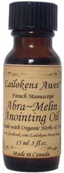 Abra Melin (french) Lailokens Awen oil  15ml