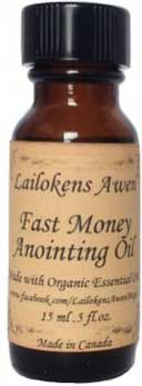 Fast Money Lailokens Awen oil  15ml