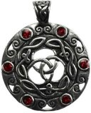 Celtic Knot with Stones amulet