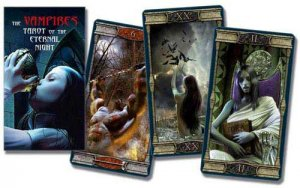 Vampire Eternal Night tarot by Barbara Moore