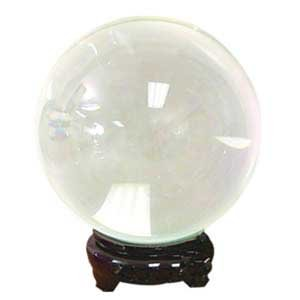 Clear crystal ball   55 mm